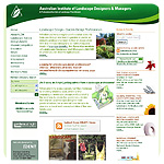 Australian Institute of Landscape Designers & Managers website