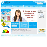ASTHMA NSW website