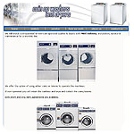 Coin Operated Washers and Dryers Website
