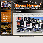 Metal Hogz Motorcycles website