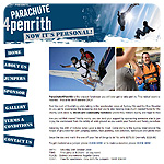 Parachute for  Penrith website