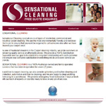Sensational Cleaning website